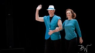 Rob and Kathryn Uptown Funk Capital Swing 2015
