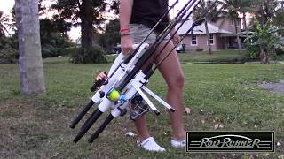 Rod-runner Portable Fishing Rod Racks (starring @darcizzle Offshore)