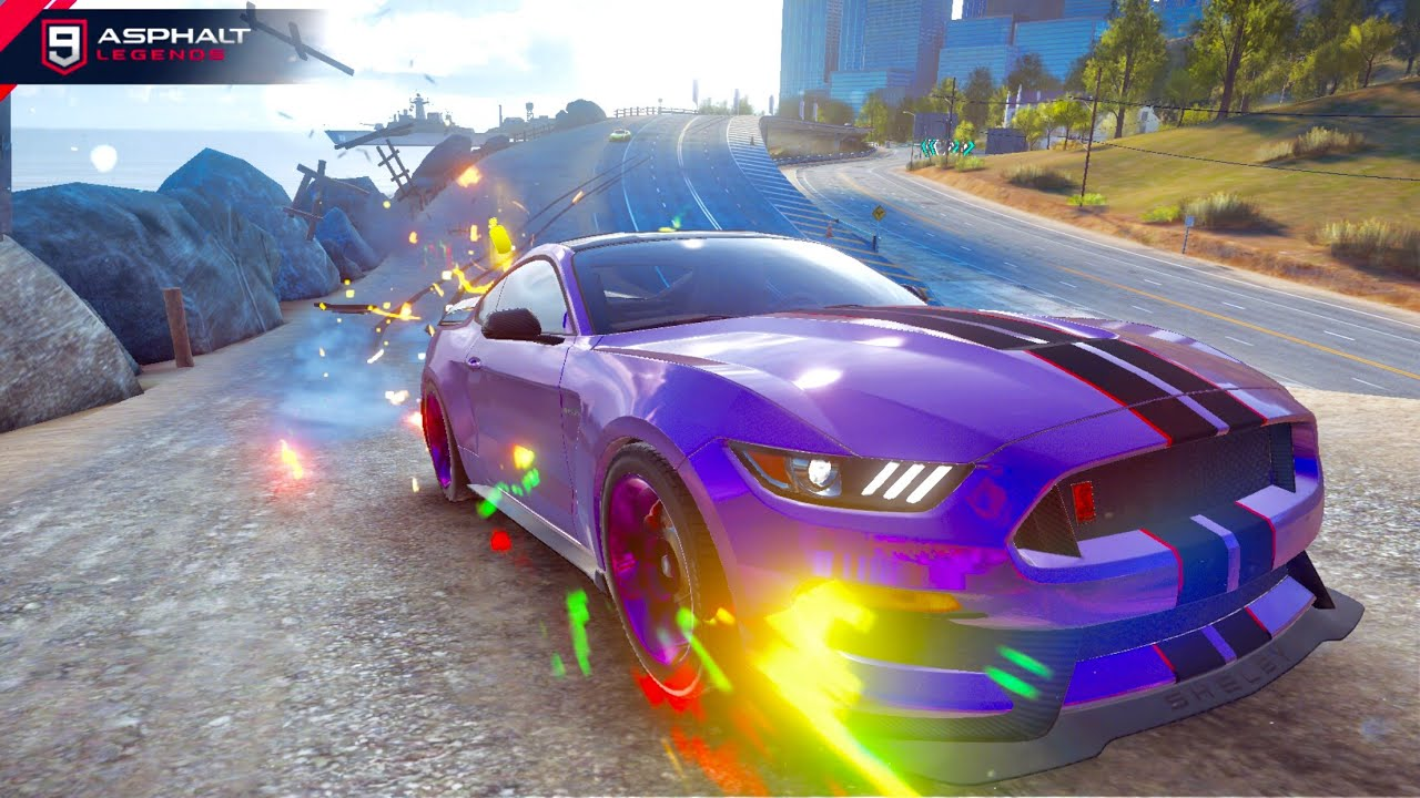 Asphalt 9 ford shelby gt350r multiplayer in san francisco