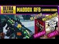NEW (MADDOX RFB) CARBON COBRA SIGNATURE - REACTIVE (RAMPAGE)/MASTERCRAFT(STREET) CAMO GUIDE COD BO4