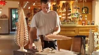 видео Как сделать ёлку из фанеры своими руками?