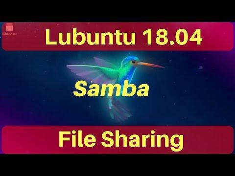 Lubuntu 18.04 Linux Samba File Sharing and Fix