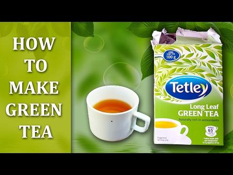 How To Make Green Tea in Hindi