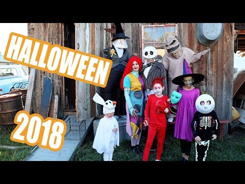 Best FAmily Halloween Party 2018 (the nightmare before christmas)