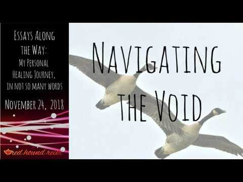 *Navigating the Void* Essays along the Way: My Personal Healing Journey, in Not so Many Words