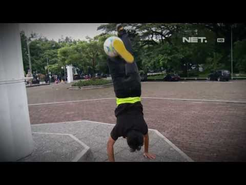 NET24 - Komunitas Freestyle Soccer Di Bandung