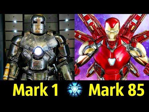✅ Все Костюмы Железного Человека (Марк 1 - Марк 85) ! Детальный Разбор 🔥!