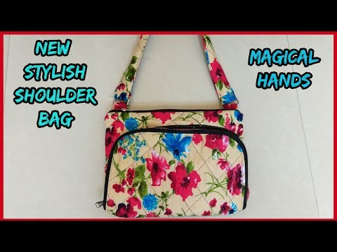 shoulder bag new branded pattern  diy 2017 -|magical hands|