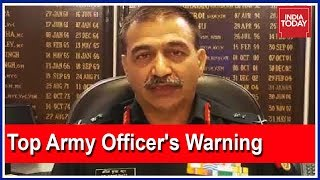 """Top Army Officer's Warning: """"100 Foreign Terrorists Sneaked Into Kashmir Valley"""""""