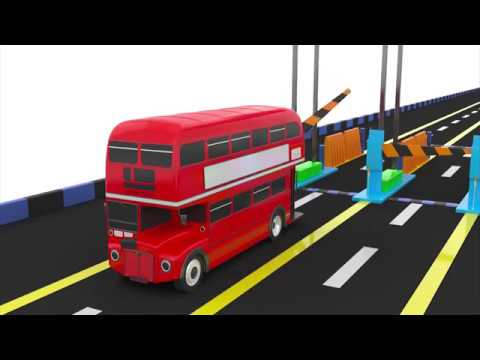 Thumbnail: Colors for Children Learn Colors With Cars Street Vehicles & Cars Colours for Kids to Learn #15