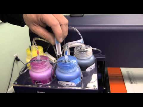 Viper DTG Printer Training Videos - Filling Machine With Ink