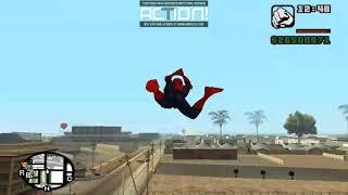 гта сан человек паук тук тук тук я человек паук