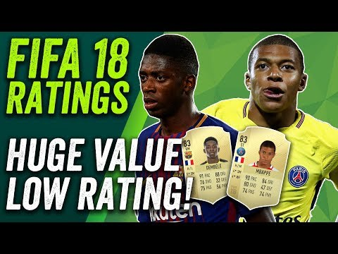 FIFA 18 Ratings! Dembéle and Mbappé 83 but Bonucci is KING at 88