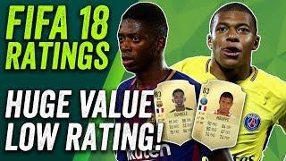 FIFA 18 Ratings! Dembéle and Mbappé 83 but Bonucci is KING at 88