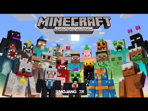 Minecraft Xbox Edition Skin Pack De Cumpleaños Aniversario - Skins gratis minecraft xbox 360