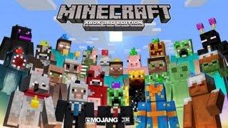 Minecraft: Xbox 360 Edition - Skin Pack de Cumpleaños 1° Aniversario - Review Todos Los Skins