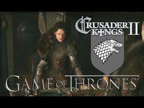 Robb Stark - Crusader Kings II Game of Thrones #11 - Tommen's Trial |