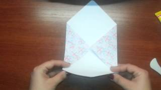 Скрапбукинг/Мастер-класс/Как сделать КРАСИВЫЙ конверт своими руками