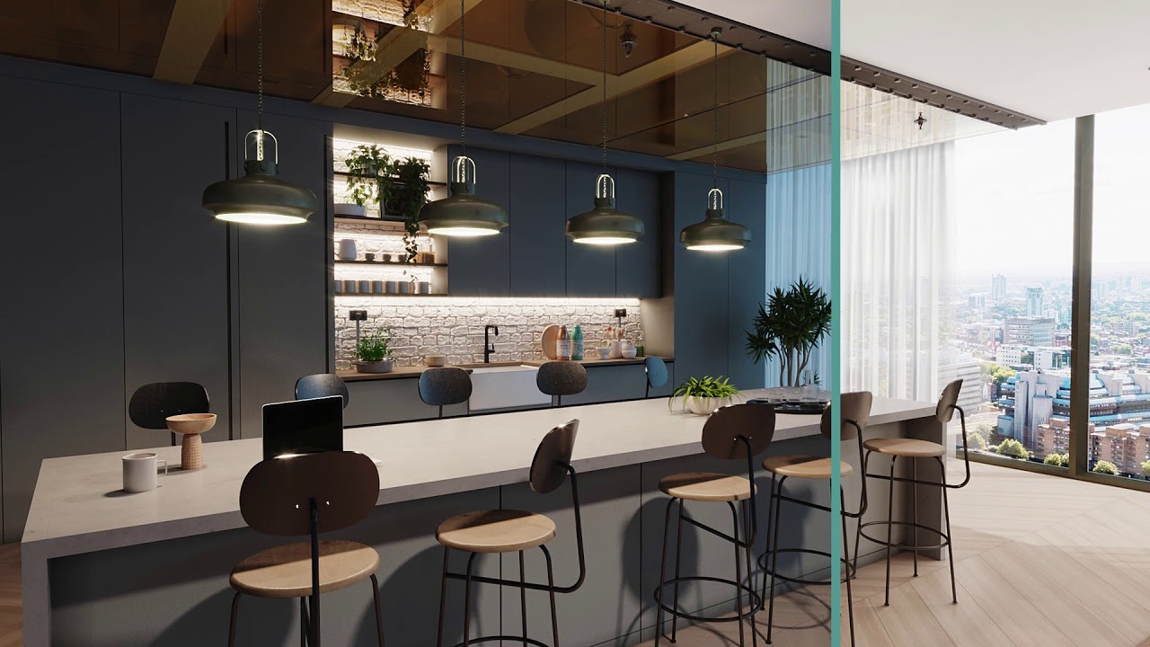 3D Workplace visualization in the UK