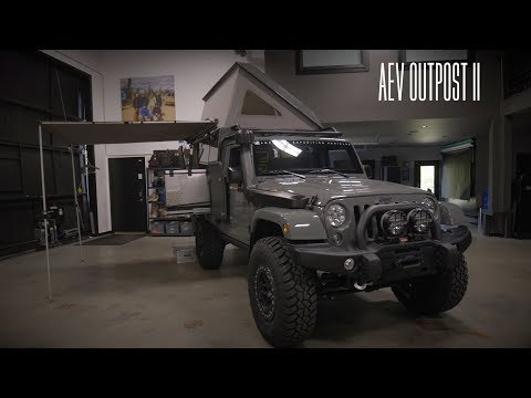 Dave Harriton's AEV Outpost 2 Jeep JK: In the Shop #13