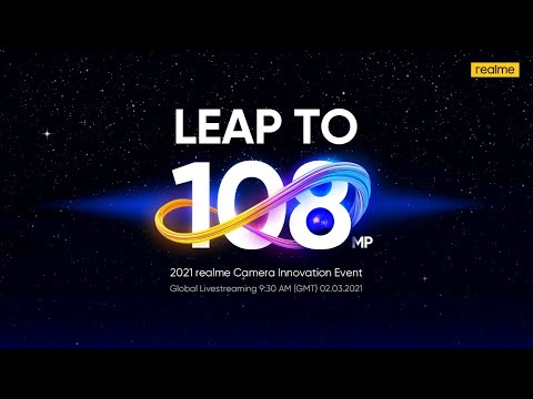 2021 realme Camera Innovation Event | Leap To 108MP