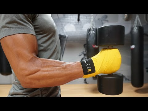 HOW TO Build IRON Wrists AND Forearms For BOXING