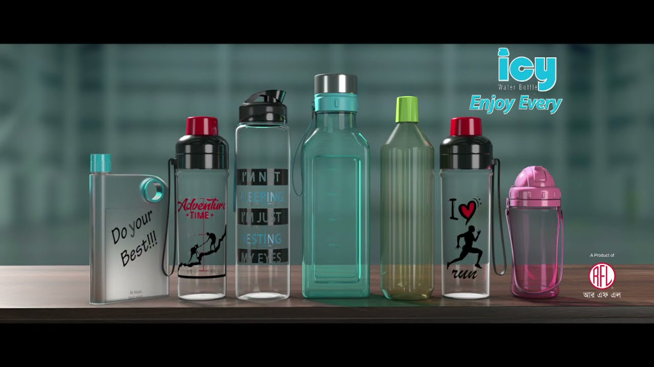 ICY Water Bottle | RFL | TVC | 6 Sec