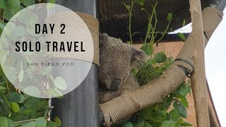 Day 2 Solo Travel California   The Zoo and Gaslamp Quarters 