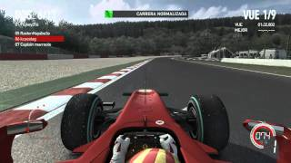 F1 2010 PC Multiplayer Gameplay