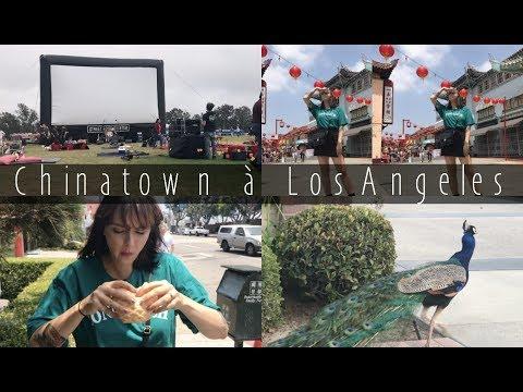 Je kiff China Town à Los Angeles !