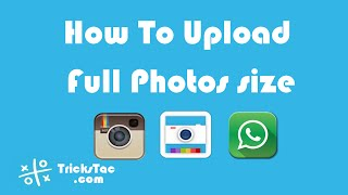 How To Upload Full Photos size to WhatsApp & Instagram without cropping using #SquareDroid