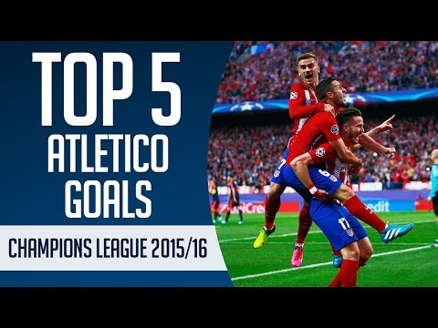 Top 5 Atletico Madrid      Champions League 2015 16 New Flash Game