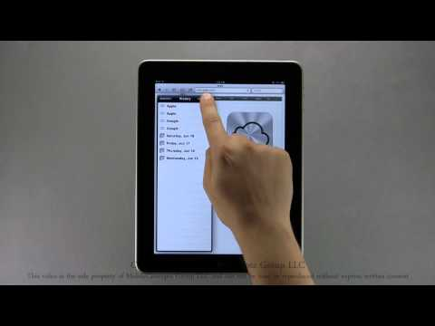 Apple iPad Tutorial Part 1