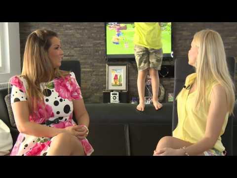 Olja Karleusa - U poseti kod - Cela Emisija - (TV Grand 05.07.2014.)