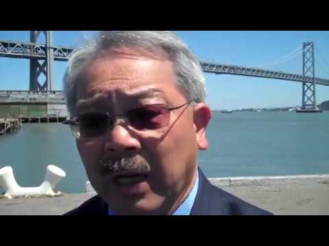 San Francisco Mayor Ed Lee Interview On Golden State Warriors Arena Project