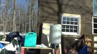Designing Tiny House Gravity Feed Water System & Testing Tanks