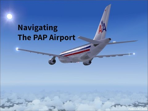 Navigating the Haiti airport