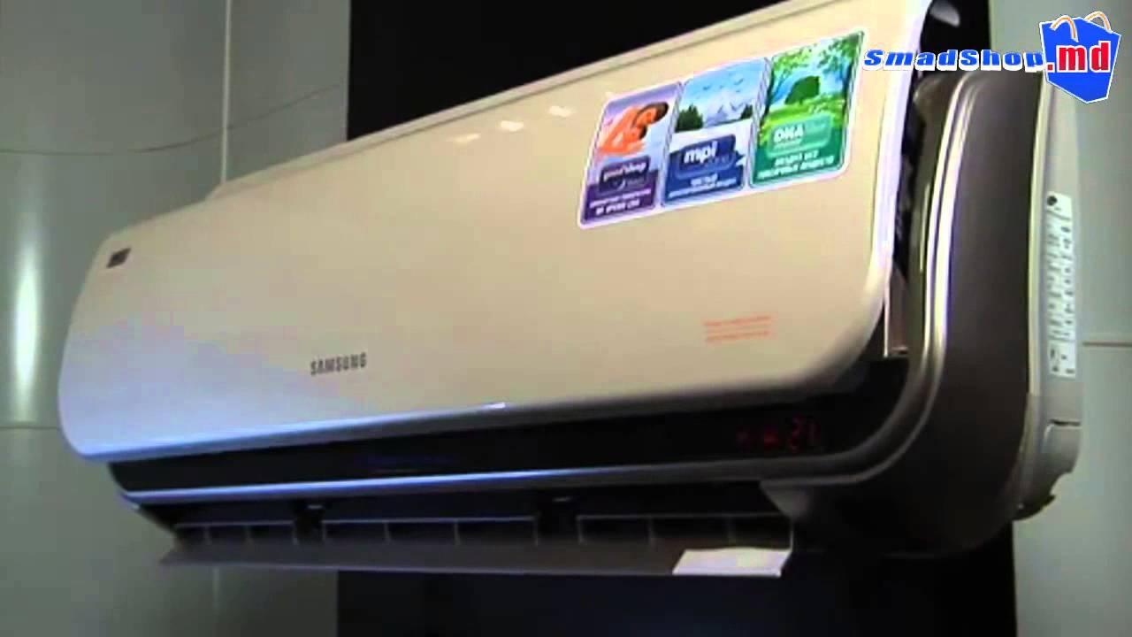 Отзывы Кондиционера Samsung AR 09 HQSD - YouTube