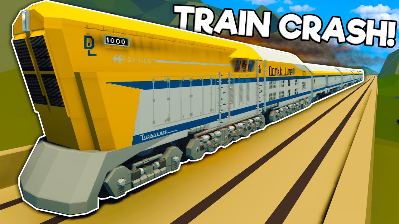 We Crashed Nuclear Trains in the Stormworks Multiplayer Update!