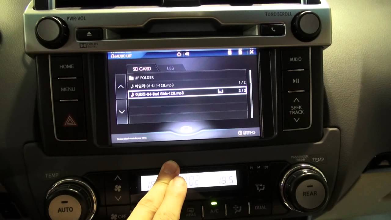 2014 Toyota New Land Cruiser Prado Touch Navigation