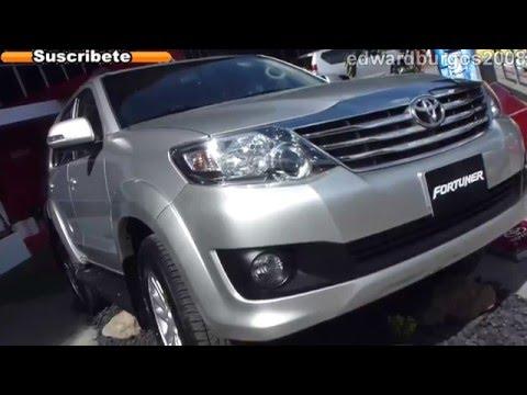 toyota fortuner urbana 2013 precio colombia video auto show medellin 2012 FULL HD