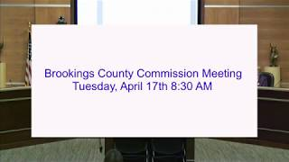 Brookings County Commission 2018-04-17