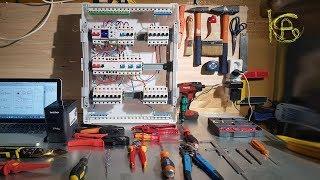 видео Как собрать электрощиток