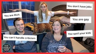 REACTING TO ASSUMPTIONS ABOUT US! PEOPLE REALLY THINK THESE THINGS?!
