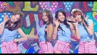 Sistar - Lovng U, 씨스타 - 러빙 유, Music Core 20140308