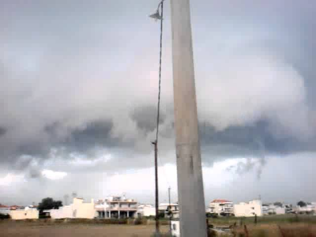 Super Wall Cloud at Chalkida City, 27/5/2012