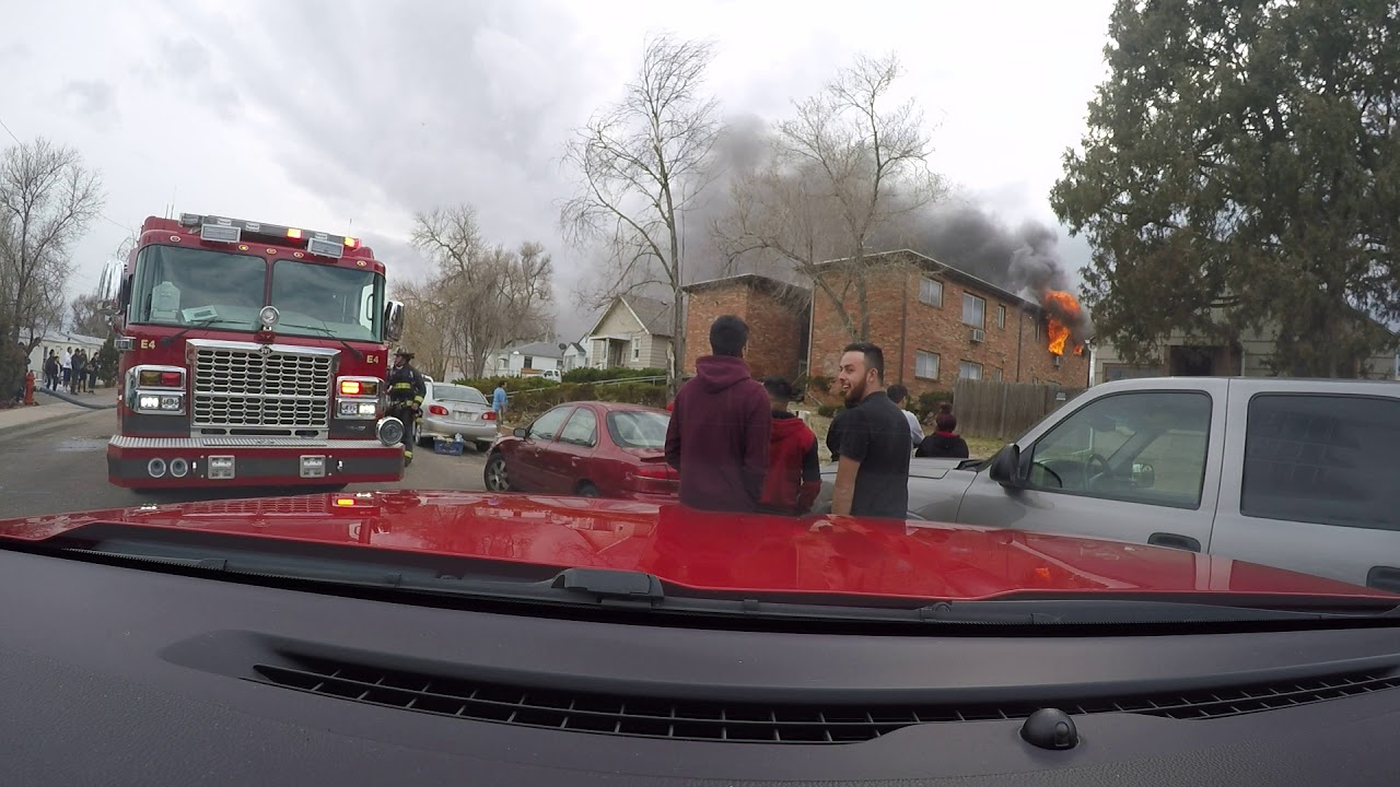 Greeley Colorado Fire Department- Apartment Fire- March 18, 2018