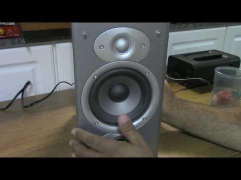 Polk Rti4 speakers mini tear down/review