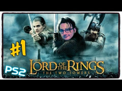 HatCHeTHaZ Plays: The Lord of the Rings: The Two Towers - PS2 [Part 1] - 1080p