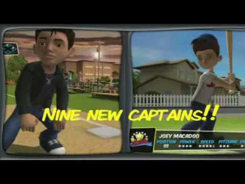 backyard sports sandlot sluggers new characters trailer youtube